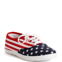 Sale-american Flag Print Sneakers