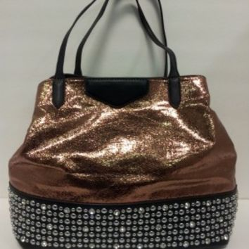 Metallic Bronze Purse