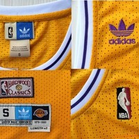 Magic Johnson 32 Los Angeles Lakers 1979 - 1980 Magic Johnson NBA Basketball Jersey