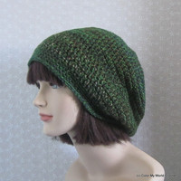 Crochet Hat  Slouchy Beanie  Crochet by ColorMyWorldCrochet