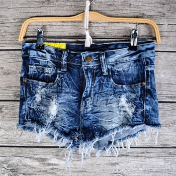 RICH CUTOFF SHORTS | Paper Kranes