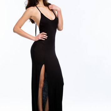 Will Beg 4 Leg Halter Maxi Dress