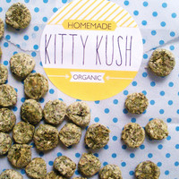 Kitty Kush: Catnip treat for stoner cats!