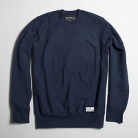 Premium Fleece Crewneck - Navy