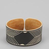 The Base Project Skeleton Coast Wide Bracelet - Urban Outfitters