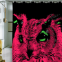 DENY Designs Home Accessories | Romi Vega Pink Owl Shower Curtain