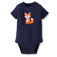 Fox Appliqué Bodysuit