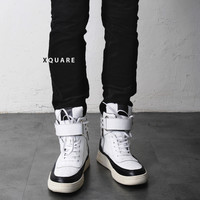 GVC High Top Leather Sneakers