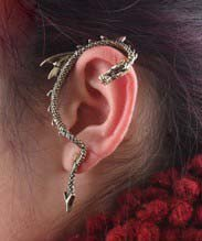 1PCS New Arrived fashion design Unique Vintage Dragon Punk Style Stud Earring | eBay