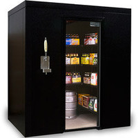 Walk In Cooler - Brew Cave Walk-In Beverage Cooler & Kegerator