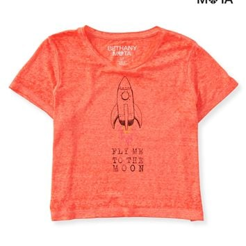 Toon Rocket Crop Graphic T