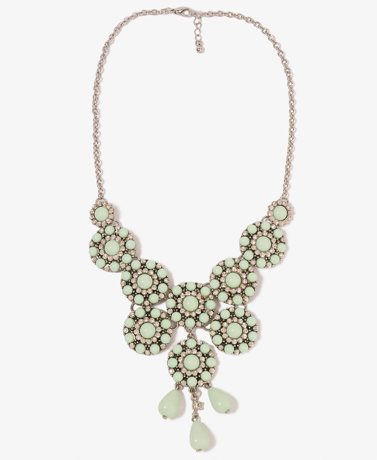 Circle Bib Necklace | FOREVER21 - 1011316900