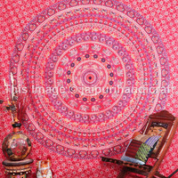 Psychedelic Elephant - Camel Mandala Tapestry, Indian Mandala Tapestry, Beach Sheet, New Age Dorm Bedding, Bohemian wall Hanging, Decor Art