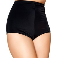 Black High Waisted Hot Pants : Summer Ravewear Shorts from RaveReady
