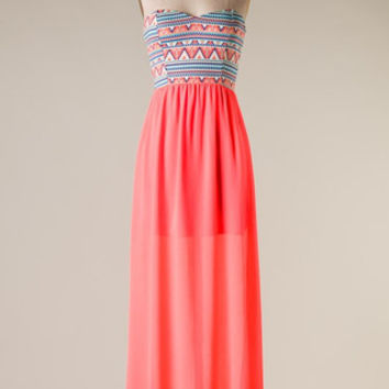Twice As Nice Maxi Dress - Shoreline Boutique
