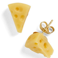 C??est Cheese Earrings | ModCloth.com