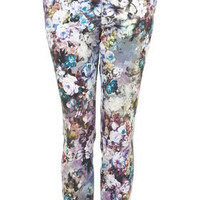 Floral Cigarette Trousers - Pants & Leggings - Apparel - Topshop USA