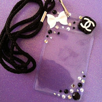 Chanel ID Badge Lanyard by JMxSweets on Etsy