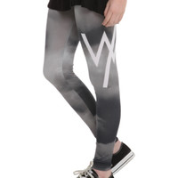 Sleeping With Sirens Grey Sky Leggings