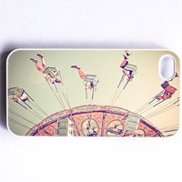 Iphon Case Carnival Swings Dreamy Fun Pink by SSCphotographycases