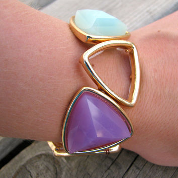 Triangles Unite Bracelet