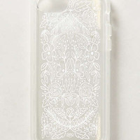 Etched Glass iPhone 5 Case by Rifle Paper Co. White One Size Tech Essentials