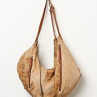 Old Trend Womens Washed Leather Hobo -