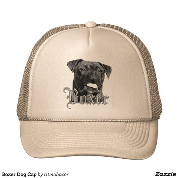 Boxer Dog Cap Hats from Zazzle.com