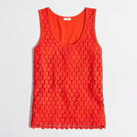 FACTORY TIERED LACE TANK