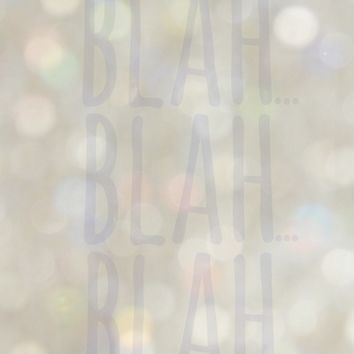 Blah... Art Print by RichCaspian | Society6
