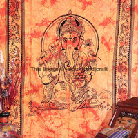 Indian Lord Ganesha Wall Hanging, Ganesha Tapestry, Indian Tapestry, Bohemian Wall Hanging. Beach Sheet, Ganesha Bedcover, Etchnic Decor Art
