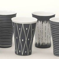 Summer Porcelain Cup Set ? ACCESSORIES -- Better Living Through Design