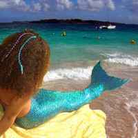 Swimmable Mermaid Tail!