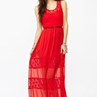 Laced Maxi Dress - NastyGal