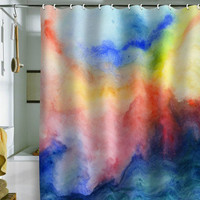 DENY Designs Home Accessories | Jacqueline Maldonado Torrent 1 Shower Curtain