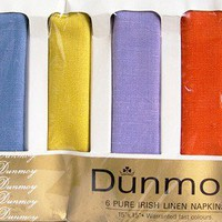 Vintage Irish Dunmoy Moygashel Linen Napkins | lilgreenshop - Kitchen &amp; Serving on ArtFire
