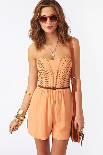 Sound Session Romper in What's New at Nasty Gal