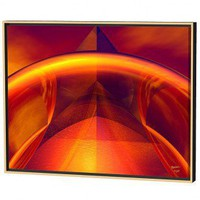 Menaul Fine Art Orange Reflections Limited Edition Framed Canvas - Scott J. Menaul - AB2-013 - All Wall Art - Wall Art &amp; Coverings - Decor