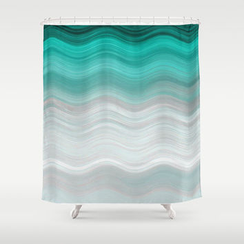 SEA ESCAPISM Shower Curtain by Catspaws | Society6