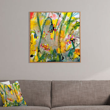 Ginette Fine Art Wildflowers 1 Framed Wall Art