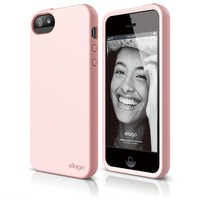 elago S5 Flex Case for iPhone 5/5S - eco friendly Retail Packaging - Lovely Pink