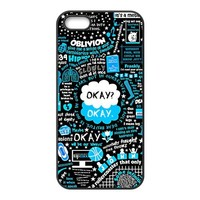 Custom The Fault in Our Stars Design TPU Protective cover For Iphone 5 5s iphone5-NY1462