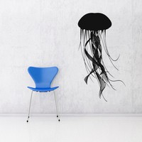 Jellyfish Vinyl Wall Art Decal by VinylWallAccents on Etsy