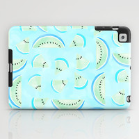 Summertime Aqua Blue iPad Case by Lisa Argyropoulos | Society6