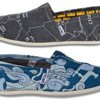 TOMS, Charity: Water Launch Limited-Edition Shoes to Provide Clean Water | Ecouterre