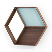 I liked this design on #Fab. Wall Wonder Mirror Smoked Oak