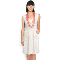 FIJI DRESS - CREAM