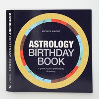 Astrology Birthday Book By Michele Knight