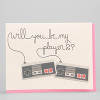 Be My Player 2 Card
