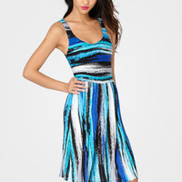 FredFlare.com - Brush Strokes Tank Dress - Shop Necessary Objects Now